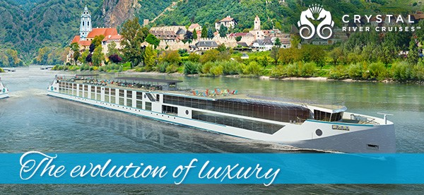 The evolution of luxury on River Cruises with Crystal Cruises